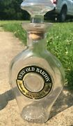 Vintage Very Old Barton Kentucky Empty Whiskey Glass Bottle Decanter