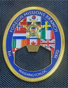 Us Secret Service Usss Foreign Missions Branch Fmb Challenge Coin