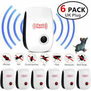 Ultrasonic Pest Repeller Deter Mouse Mice Rat Spider Insect Electric Repellent