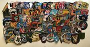 Set Of Patches Ussf Arvn Usaf Snoopy Airborne Usmc Recon Uscg M