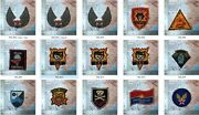 Patch 12 Patces Free 3 Ussf Air America Fob Delta Macv - Sog Patch