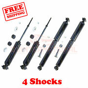Kit 4 Monroe Oespectrum Front And Rear Shocks For Lincoln Continental 1973-1979