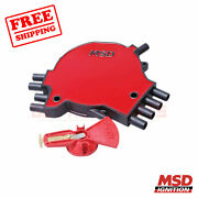 Msd Distributor Cap And Rotor Kit For Buick Commercial Chassis 1994