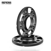 2x 12mm Bonoss Black Anodized Wheel Spacers For Bmw 1 Series F21 118i120d120i