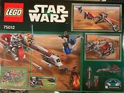 Lego Star Wars Barc Speeder With Sidecar 75012 Includes Captain Rex Phase 2