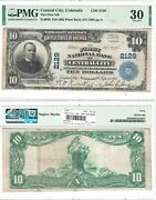 1902 10 First National Bank Of Central City Co 2129 Pmg Very Fine-30