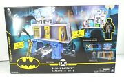 3 In 1 Batcave Playset With Exclusive Batman Figure By Dc Comics Spin Master New