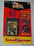 Bandai Mighty Morphin Power Rangers Launcher And Spin Fighters Spinner Tops 1993