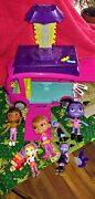 7 Vamperina And Doc Mcstuffins Figure Toys 7 Action Figures And Dog And Bus