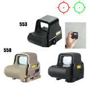 Red Green Dot Holographic Sight 551 / 558 Tactical Airsoft Scope Sight