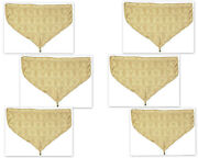 Discontinued And Rare Croscill Triomphe Gold Valances Set 6 Ascot Curtains Damask