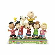 Charlie Brown Snoopy And Gang Figure A Grand Celebration Jim Shore Peanuts New