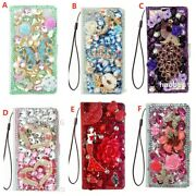 For Atandt Axia/a1x/a2x/alcatel 3v 2019/avalon V Case Bling Wallet Leather Cover