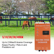 High Voltage Electric Fencing Controller Energizer For Animals Electric Fencing