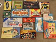 Rare Vintage Board Game Collection Lot 1950s-1980s Andnbsp20 Board Games