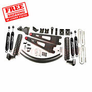 Zone 6 Front And Rear Radius Arm Suspension Lift Kit For Ford F250 4wd 2011-2016