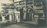 Liquor Distillery Pharmacy Plant Workers Drinking From Bottles Antique Rppc
