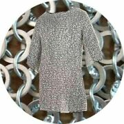 Best Gift For Son Medieval Chain Mail Aluminum Round Riveted Washer Full Sleeve