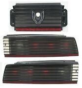 1982-1984 Pontiac Trans Am Driver And Passenger Factory Tinted Tail Lights Used Gm