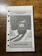 Norfolk Southern Adverse Weather Safety Booklet
