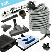 Electric Powerhead 30' Hose Kit For Beam Electrolux Nutone Central Vacuum