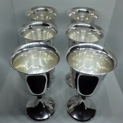 And0396and039 Gorham Sterling Silver Water Goblets.