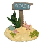 Wee Forest Folk Beach Sign A-42 Retired