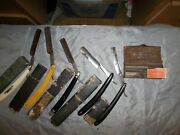 Vintage Personal Straight Razors.collectibles. Antiques. Rare. In Good Conditio