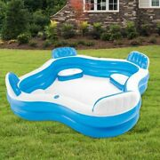 Pool Inflatable Swimming Family Kids Outdoor Summer Adult Pvc Water Pools Garden