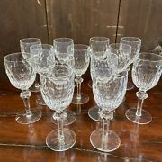 Waterford Crystal Curraghmore Claret Wine Glasses Set Of 13