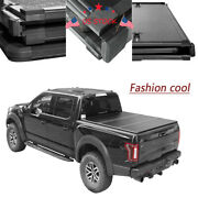 New 5.5ft Short Bed Tri-fold Tonneau Cover Lock Hard Solid Fits Ford F150 15-18