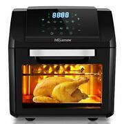 Electric Hot Air Fryers Oven Oilless Cooker With Lcd Digital Screen And Nonstick F