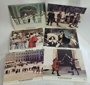 1974 Three Musketeers Movie Press Release Photo Still Lot Advertising Pack Retro