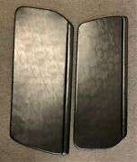 914 Upholstered Door Panel Black Smooth Leatherettewith Clips Ready To Install