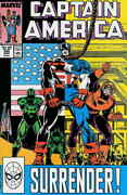 Captain America 1st Series 345 Vf/nm Marvel | Save On Shipping - Details Ins