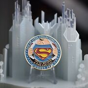 Christopher Reeve Superman Andldquoyouandrsquoll Believe A Man Can Flyandrdquo Limited Edition Coin