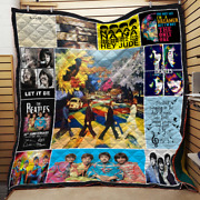 The Beatles Quote Blanket The Beatles For Fans Quilt Fleece Sherpa Throw Blanket