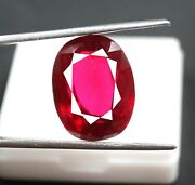 Big Offer 40.95ct Untreated Red Ruby Vvs Clarity Natural Best Gemstone Mg1069