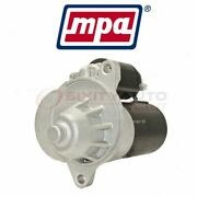 Mpa Starter Motor For 1996-2001 Ford Explorer - Electrical Charging Starting Zf