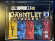 Gauntlet Legends Factory Sealed N64 Vga 90 Nm+/mt High Grade Perfect Condition