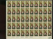 1804 Benjamin Banneker Mint Nh And039printerand039s Wasteand039 Complete Sheet Of 50 Stamps