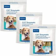 C.e.t. Enzymatic Oral Chew Dog Over 50 Lbs 30ct 3 Pack Model 90607-3