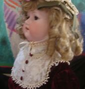 Large Early German Doll, 32, Armand Marseille, Ball Jointed Composition Body
