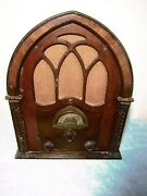 Atwater Kent Type 82d Cathedral Radio Complete 1931