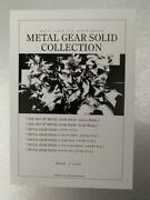 Metal Gear Solid Collection 25th W/serial No Konami Style Limited 2500 Sets