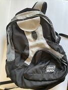 Coleman Max Backpack Black And Gray