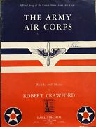 Ww2 Era Official Song Book For The Us Army Air Corps
