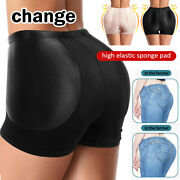 Womens Invisible Butt Lifter Booty Enhancer Padded Control Panties Body Shaper