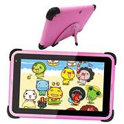 Kids Tablet 7 Inch Android 10 Tablet Kids Learning Tablet Wifi Tablet For Pink