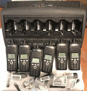 6 Pack Of Xts2500 Fully Refurbished 380-470 Aes-256 New Cases New Accessories